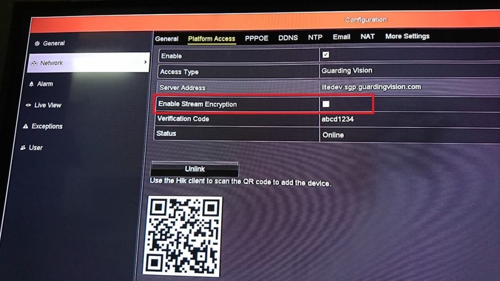 Cách tắt mã hóa HIK-CONNECT trên thiết bị HIKVISION