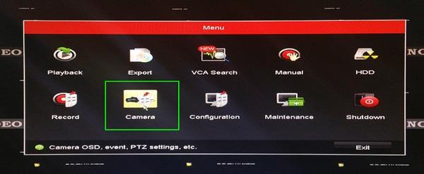 gán camera IP vào đầu ghi Hikvision