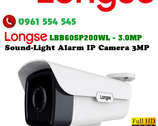 Sound Light Alarm Ip Camera 600x650