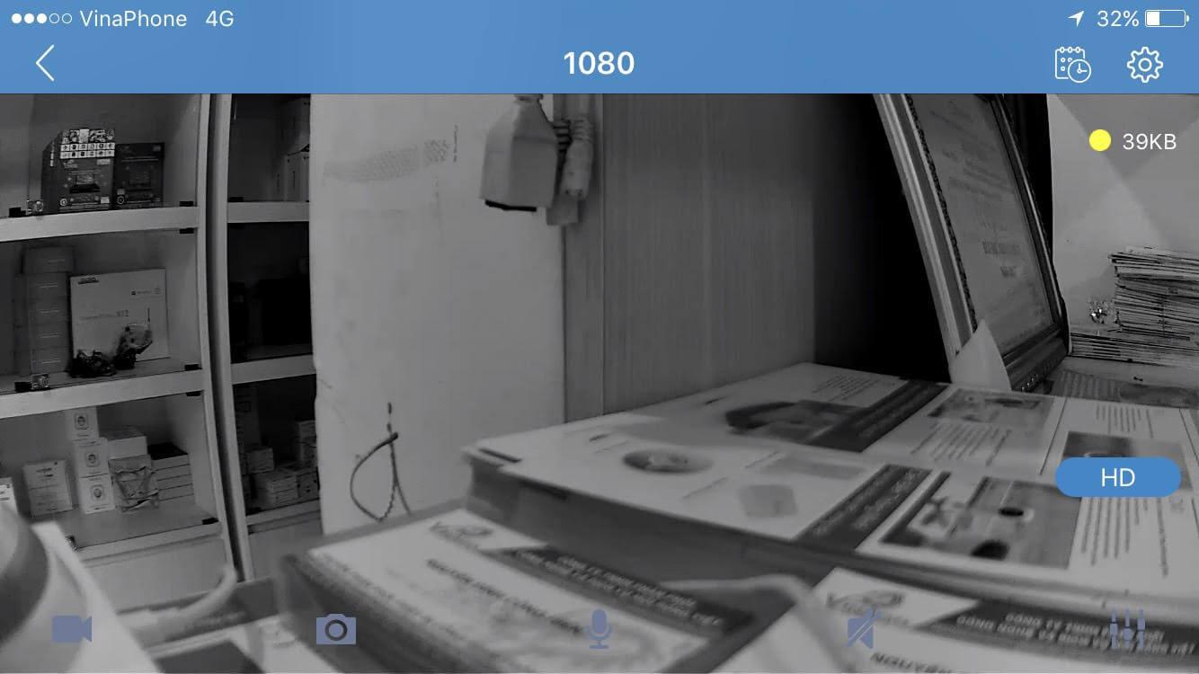 Camera WiFi giám sát quay quét 2.0Mpx Full HD 1080P