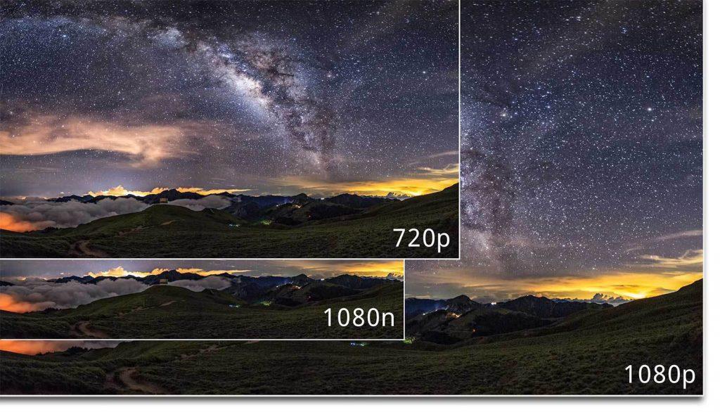 1080n 1080p 720p