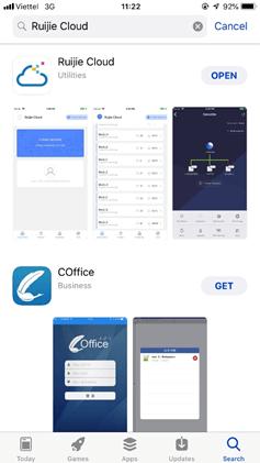 Hướng dẫn cấu hình thiết bị wifi Ruijie Networks (Ruijie Cloud)