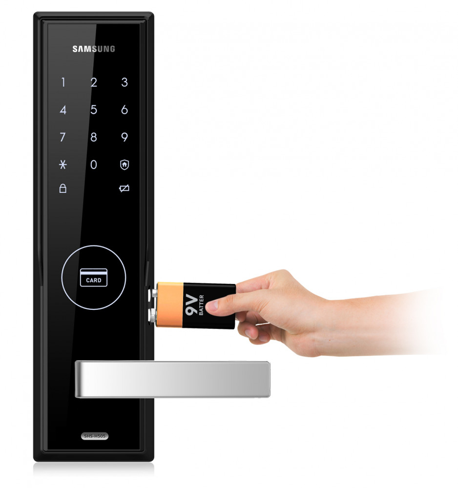 Cách mở khóa cửa từ khi hết pin ? Mở khóa điện tử khi hết pin