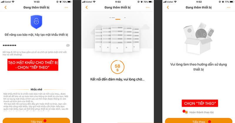 Hướng dẫn cài đặt camera wifi IMOU trên điện thoại trong 3 bước