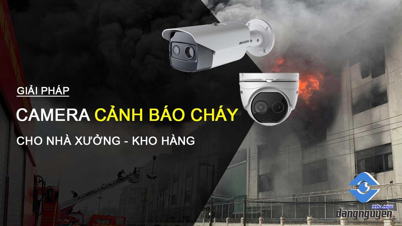 Giải pháp camera cảnh báo nguy cơ cháy của Hikvision