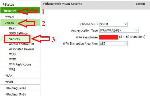 Đổi mật khẩu wifi nhà mạng VIETTEL, FPT, VNPT